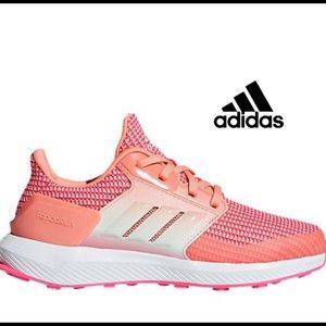 Adidas running shoes sneakers Coral fits b…